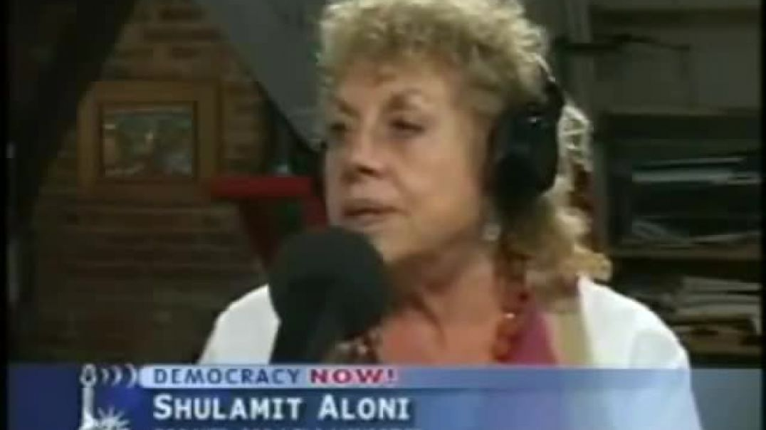 """""""Anti-semitic, its a trick we always use it"""" - Former Israeli Minister."""