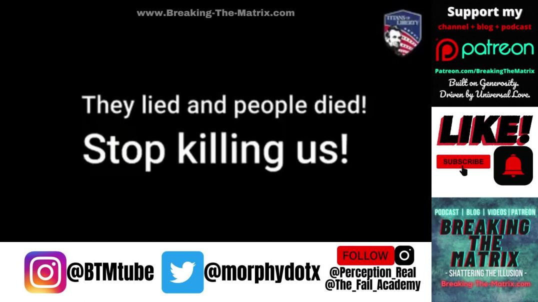 They Lied and People Died: STOP KILLING US!