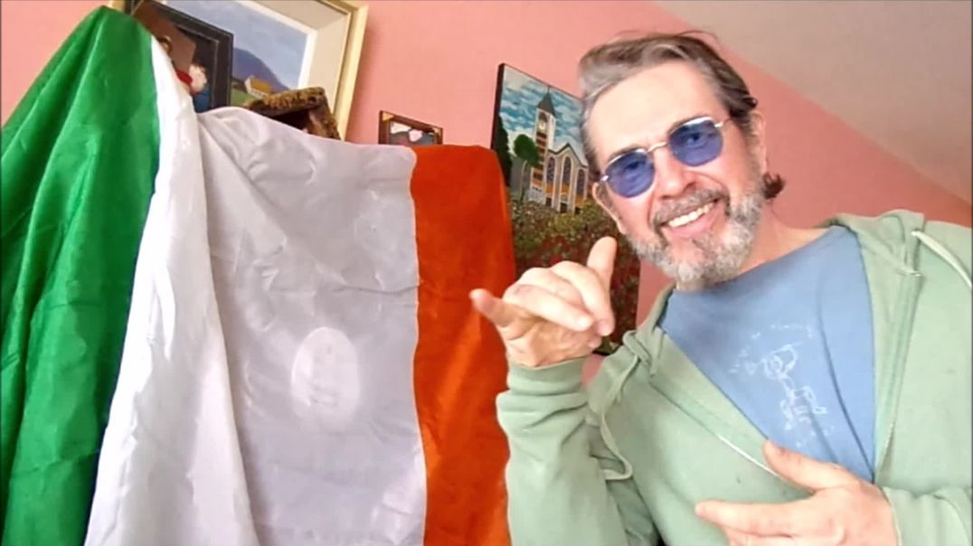IRELAND: MY PEACE AND LOVE MESSAGE TO THE FREEDOM RALLY'S 15/5/2021