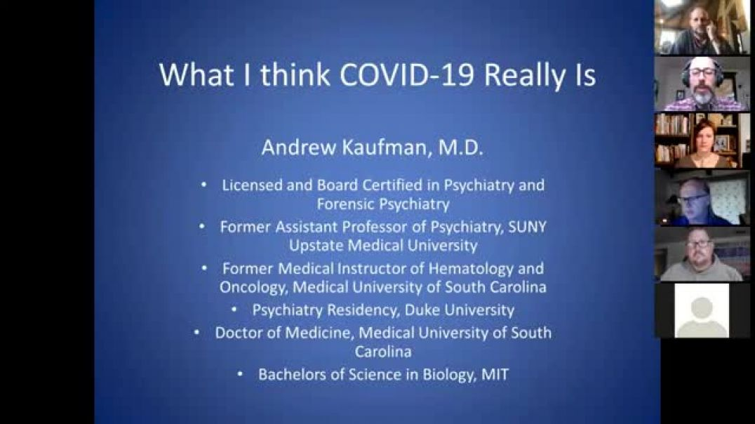 COVID 19 virus does NOT exist, NO scientific proof ! Dr. Andrew Kauffman (Forensic psychiatrist)