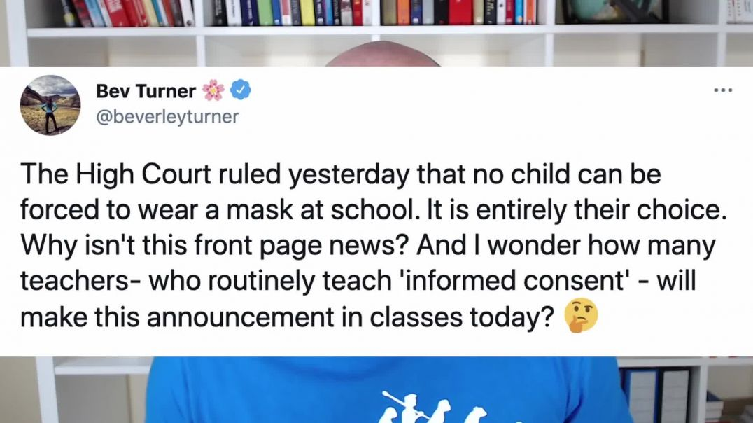 NO MORE Masks In Class - High Court Confirmation.