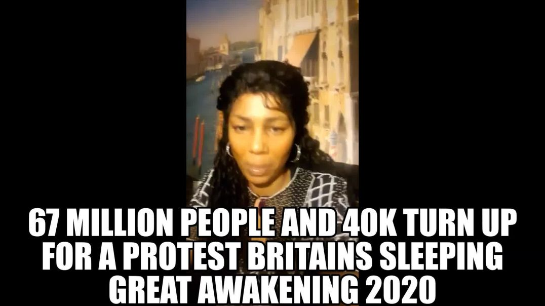 1 Million People Turned Up In London Its Good But Britain Still SLEEPING