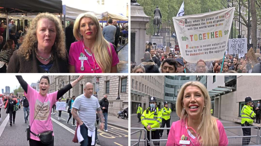 Freedom rally 15th May - Ft. Fiona Rose diamond, Kate Shemirani, Prof. Dolores Cahill