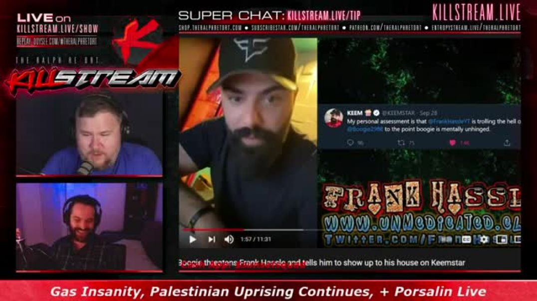 #Killstream: Porsalin Live, Boogie Busted, + Palestinian Uprising Continues (5/11/2021)