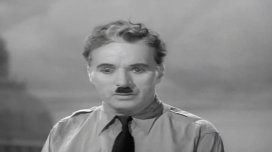 A Message For All Of Humanity - Charlie Chaplin (1940)
