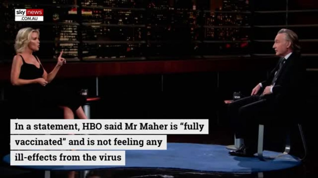Comedian Bill Maher contracts COVID even after being FULLY VACCINATED - vaccines are useless