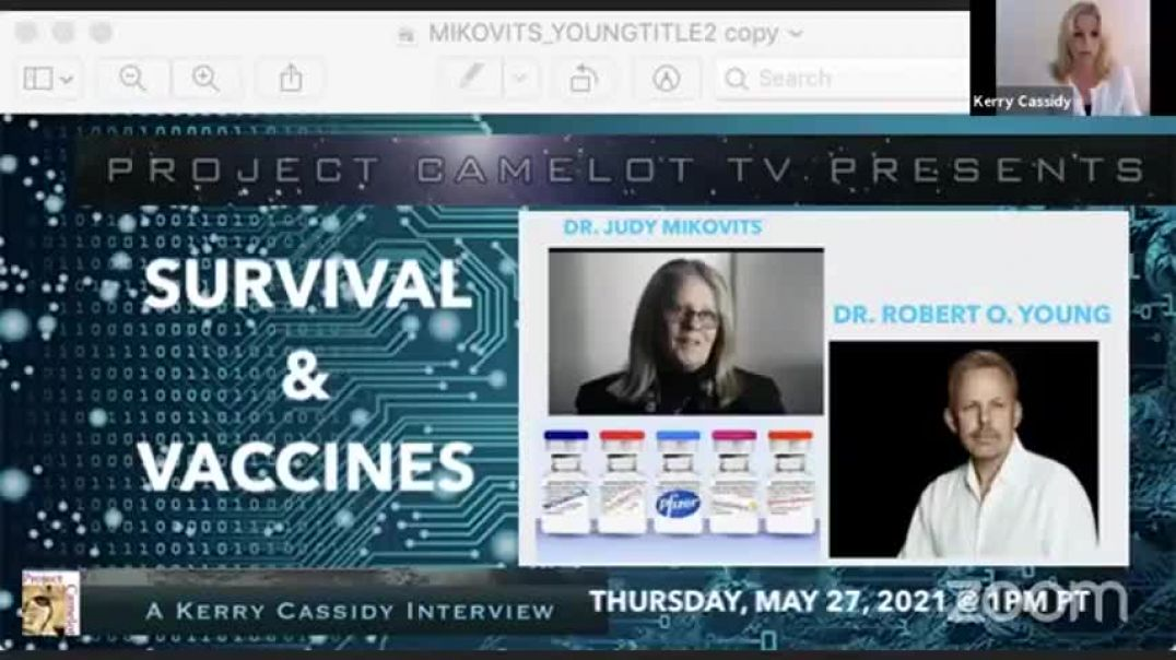 Dr. Judy Mikovits & Dr. Robert O. Young | Survival & the Vaxx | Kerry Cassidy