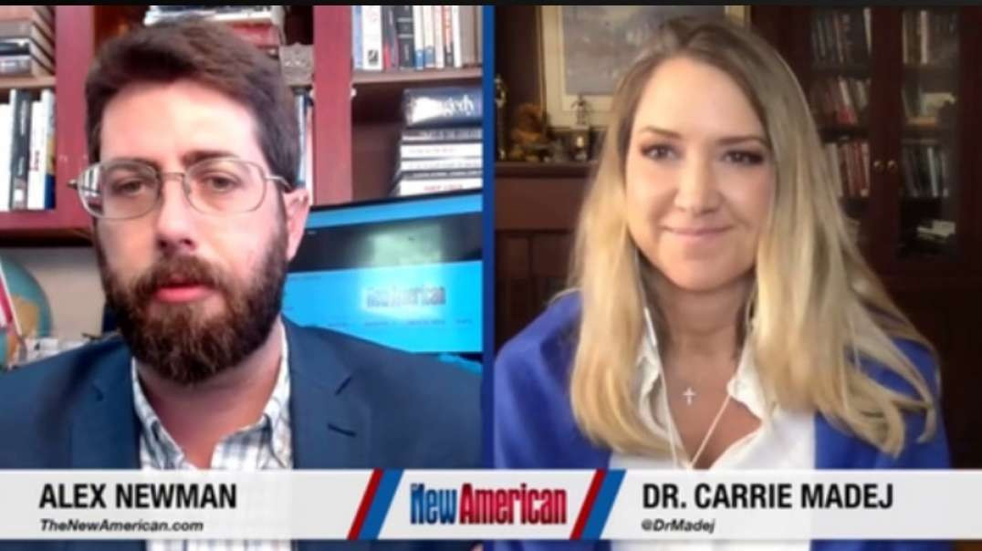 ALEX NEWMAN INTERVIEWS DR. CARRIE MADEJ - COVID SHOTS, DNA & TRANSHUMANISM ( A MUST WATCH!)