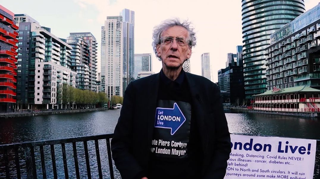 ⁣Piers Corbyn - 5 reasons to vote for him