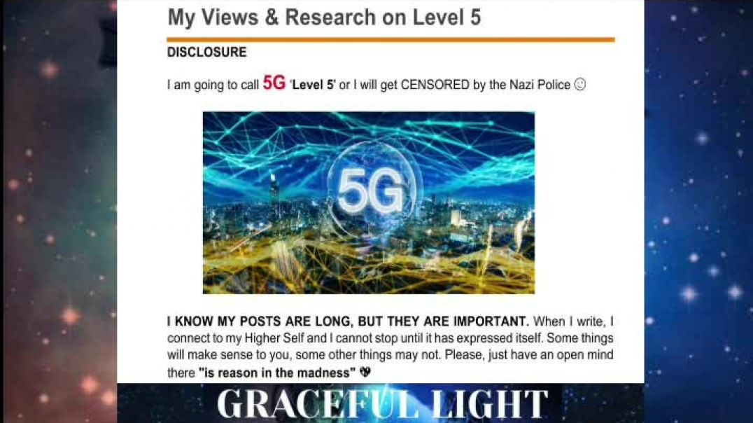 ☢ Level 5 (5G) Is It Safe_ A Personal Take From A Different  Perspective
