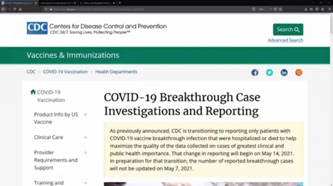 CDC's Rigged Rules For C-19 Shots | How the Govt Helps Pharma Giants Look Effective