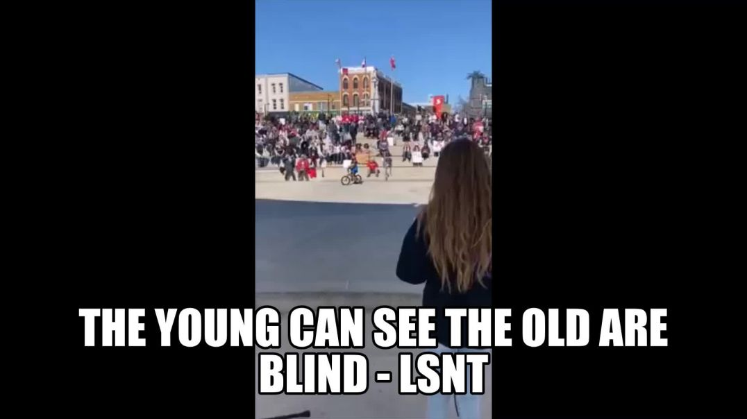 Enlightened The Young Can See The Old Are Blind - Awake In The Matrix 2021