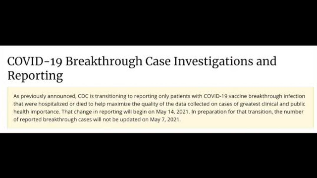 CDC SHITFUCKERY WITH COVID VACCINATED METAGE