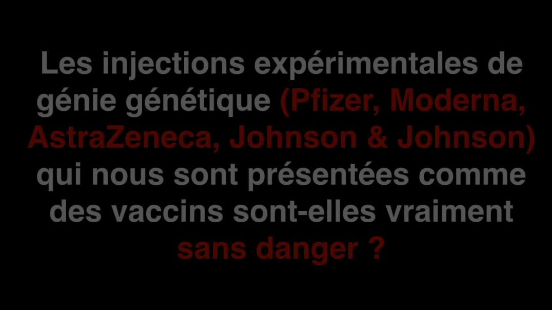 Assassinés par le Vaccin du Covid-19