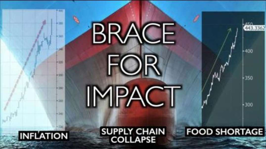 BRACE FOR IMPACT Supply chain collapse Food shortage Plandemic depopulation