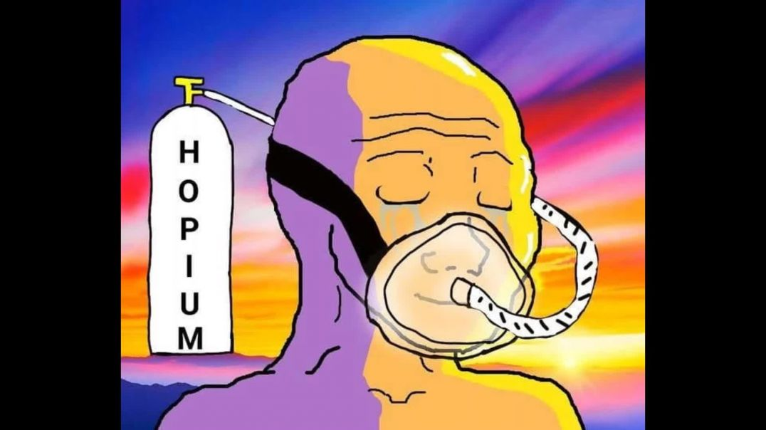 Welcome To The New World Order CONSPIRACY LOL Hopium Is DANGEROUS FACE ID