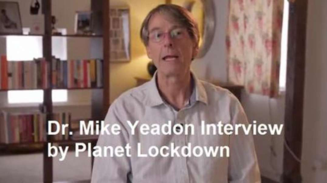 MIKE YEADON INTERVIEW BY PLANET LOCKDOWN