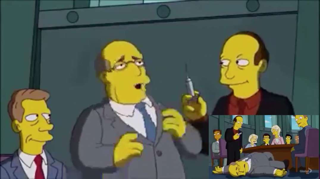 how to Create a Phony Pandemic Crisis by The Simpsons