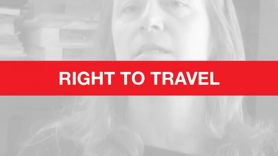 How and Why YOU Have the RIGHT to Travel Without a (vaccine passport) License - How to Do IT