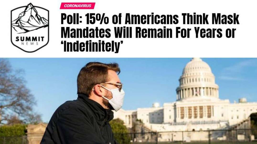 15% of Americans Think They Will Have To Wear Masks Forever