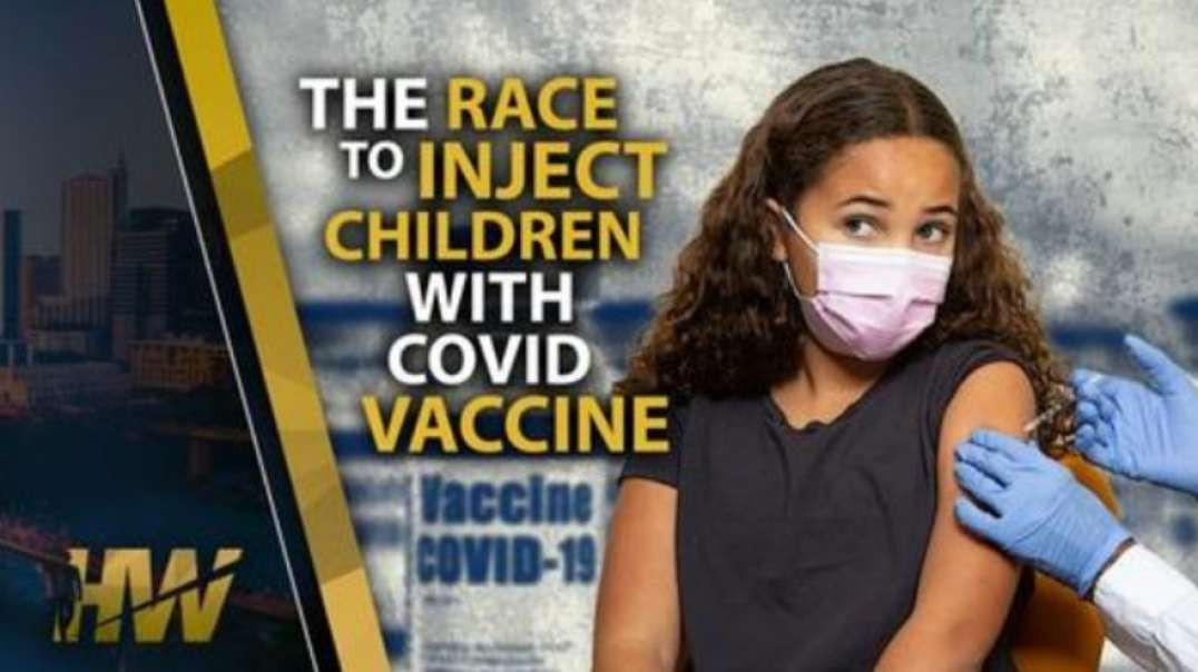 THE RACE TO INJECT OUR CHILDREN!!!