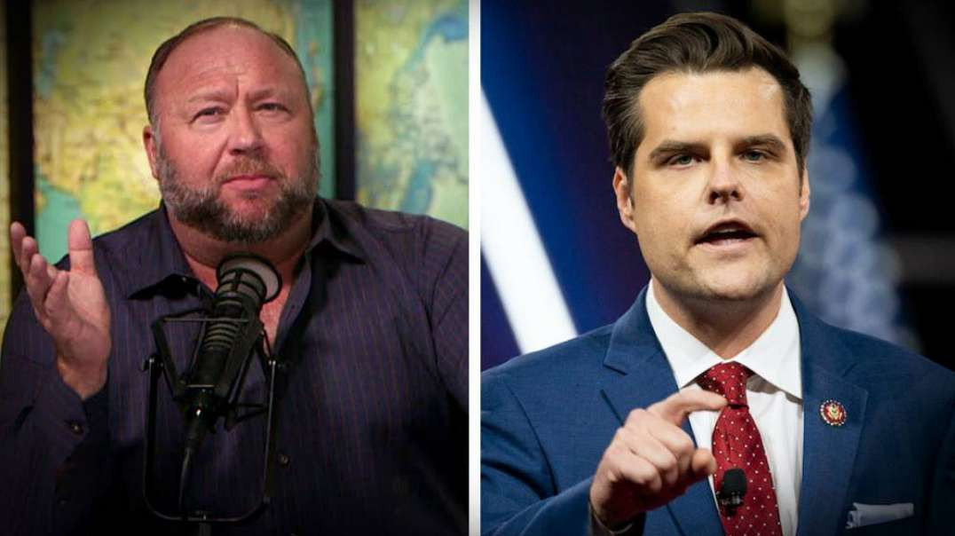 Alex Jones Responds To Matt Gaetz Underage Story