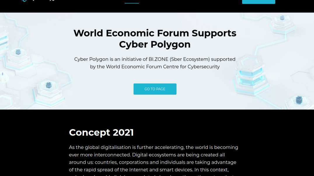 Update, Cyber Polygon and Govcoin