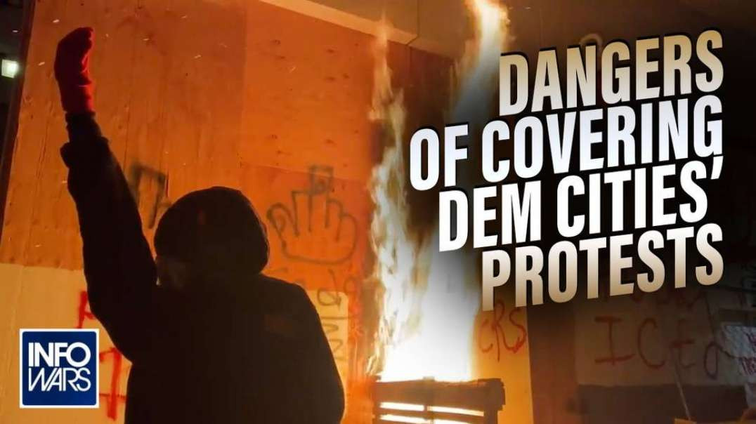 The Dangers Of Covering Democrat Riots And Living In Democrat Cities Exposed-
