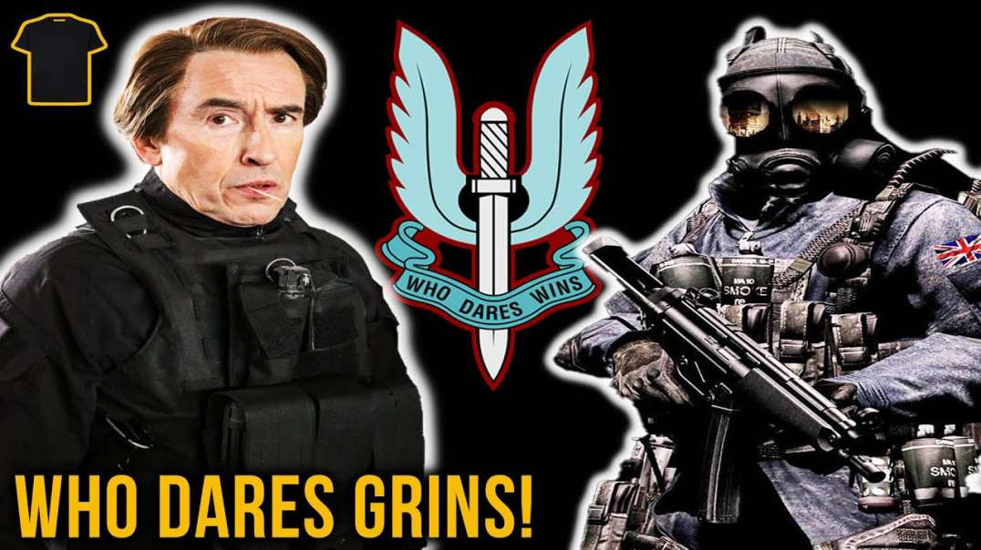 SAS Who Dares GRINS!   The Side Of Special Forces People Don't See