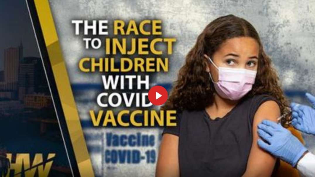 The Race to INJECT Children with the Genetic Poison - The Highwire with Del Bigtree