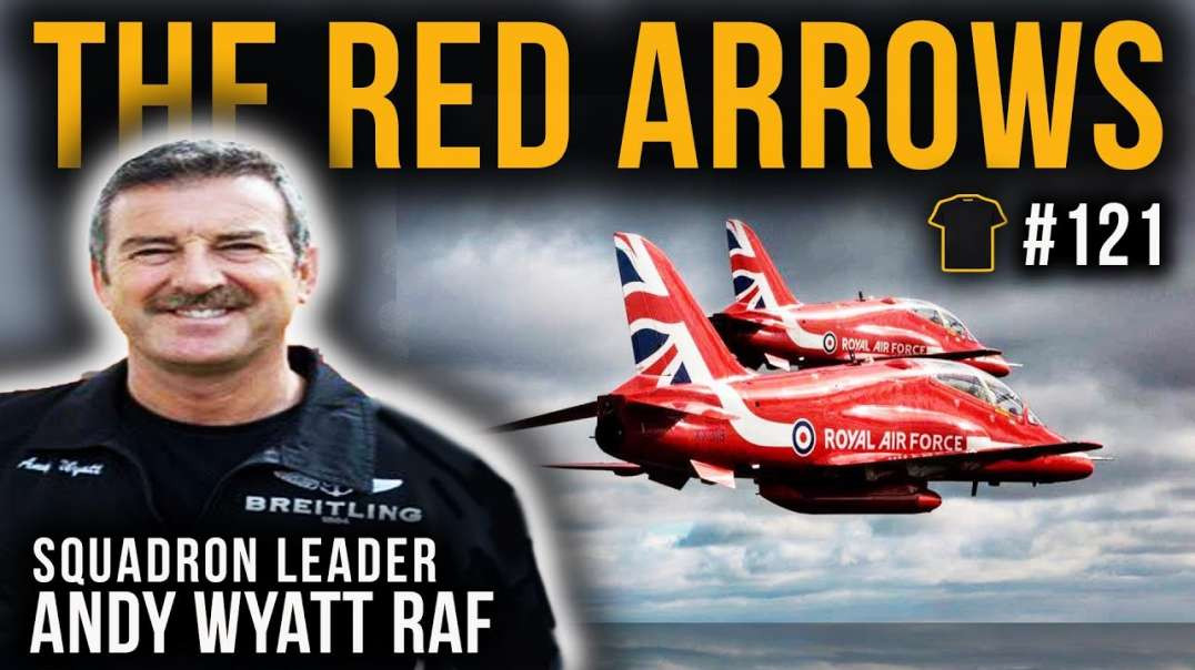 From Red Arrows To 747 Pilot | Squadron Leader Andy Wyatt | Bought The T-Shirt Podcast | #121