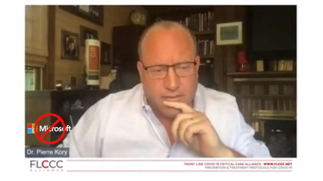 Banned On Youtube Video: Dr. Pierre Kory WHO Suppression Of Ivermectin