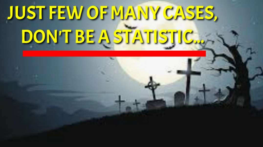 Just few of many cases, don't be a STATISTIC...