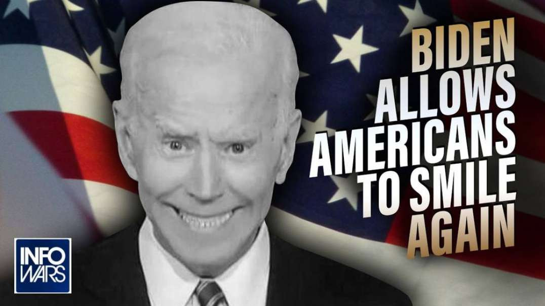 Cult Leader Biden Allows Americans to Smile Again