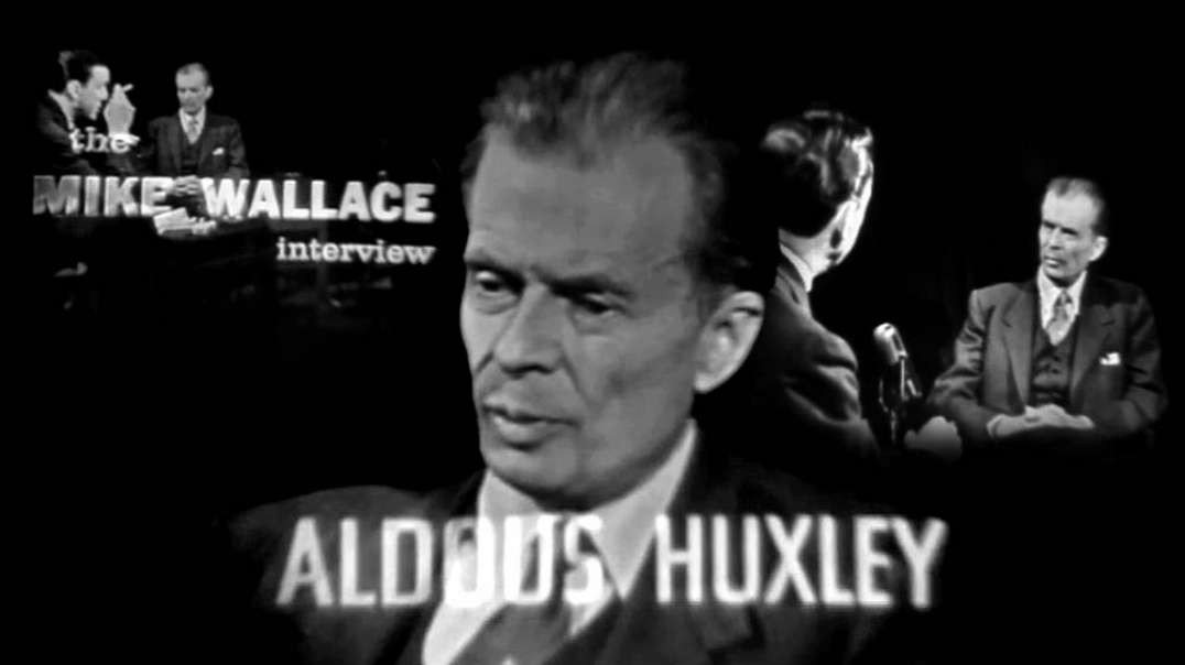 ⁣Enemies of Freedom by Aldous Huxley. The Mike Wallace Interview