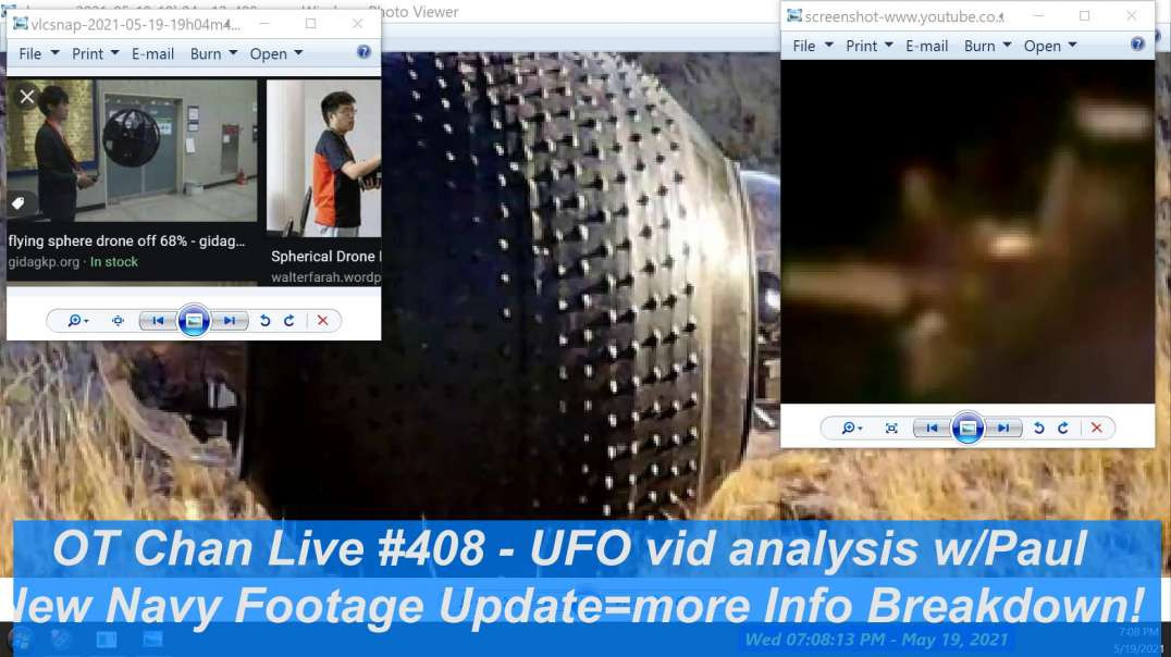 New Navy UFO-UAP footage Updates+Chat w]Paul on military sighting +their EXPERTS ]-OT Chan Live-408