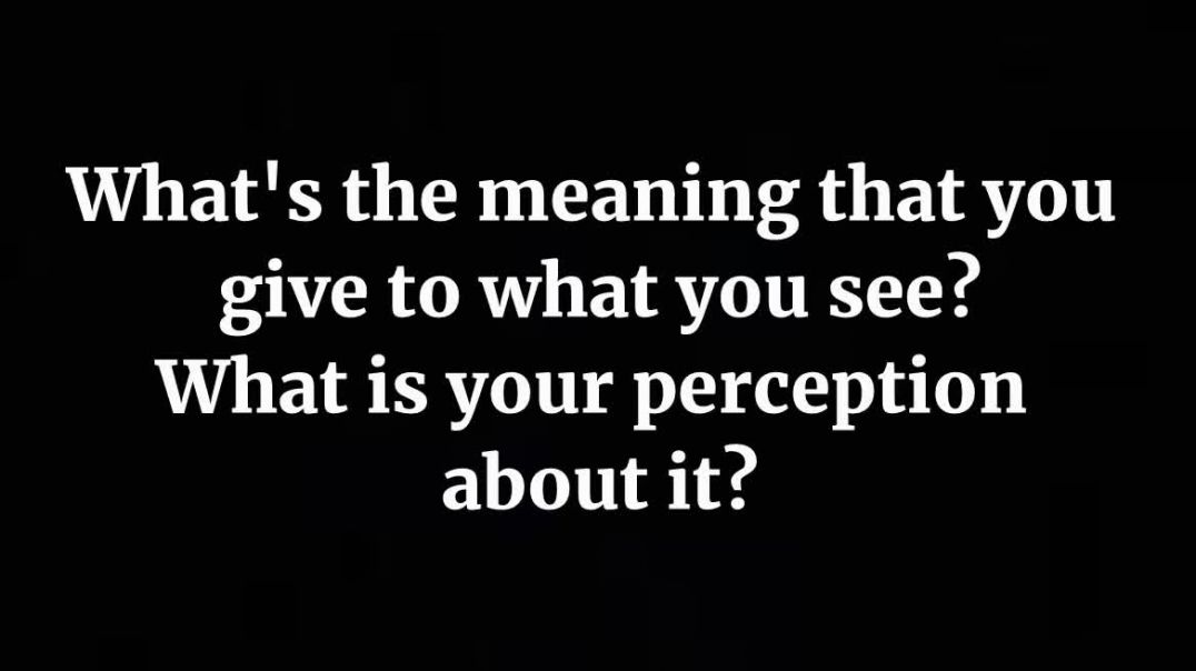 Act like if you've got it.. A link between meaning and feeling.