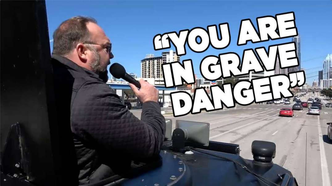 """""""YOU ARE IN GRAVE DANGER"""" Alex Jones Warned OF The Great Reset Culling Last Year"""