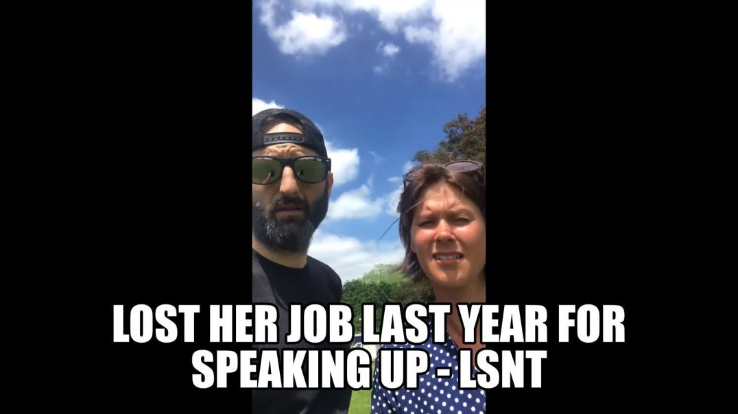 HEALTH CARE WORKER  SACKED LAST YEAR MARCH FOR SPEAKING OUT ( REAL HEROES )