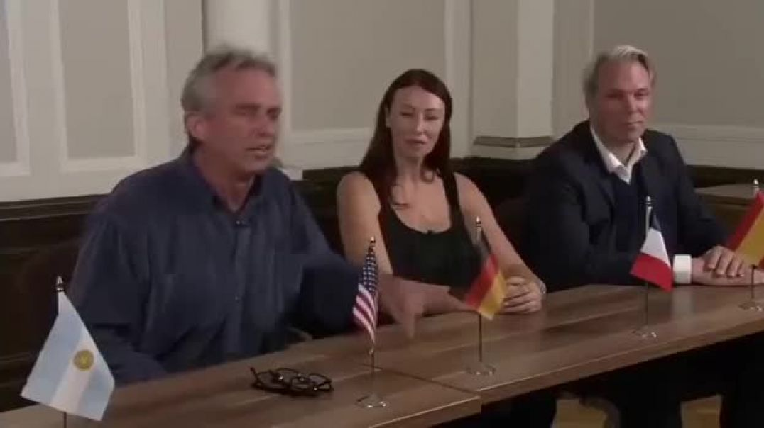 Robert F Kennedy Jr warns about the agenda behind the vaccine