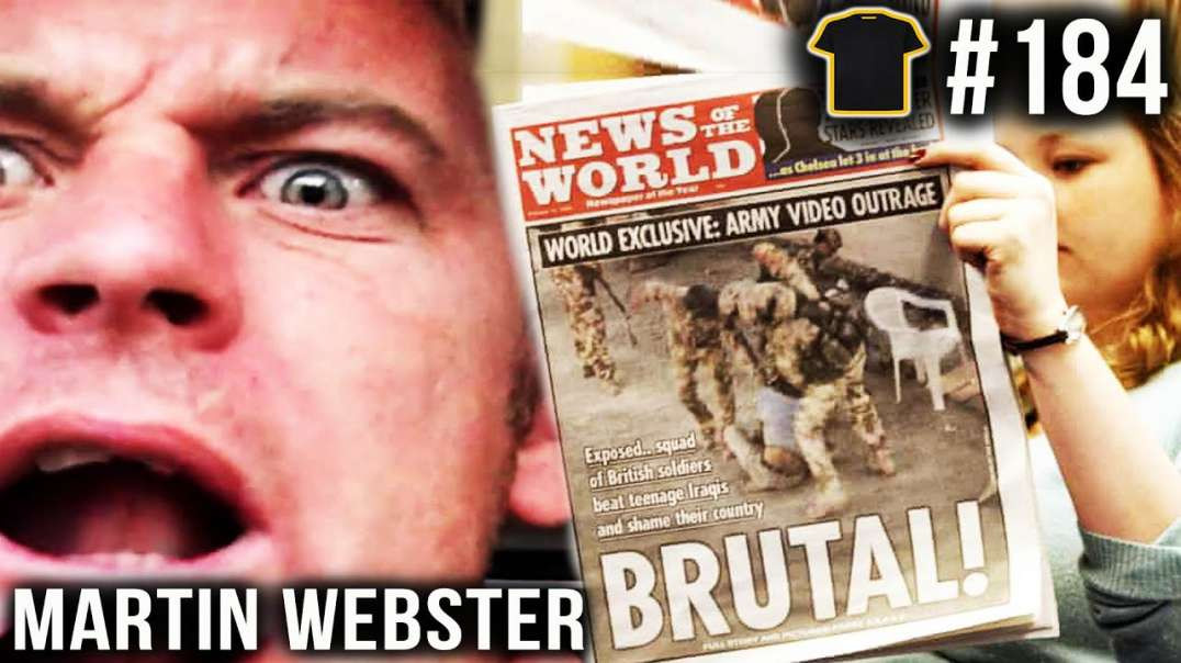A National DISGRACE | Martin Webster | Chris Thrall's Bought The T-Shirt Podcast