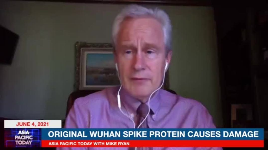 Dr McCullough: Spike Protein Damages The Brain, Heart, Lungs And In Breast Milk 4/june/21