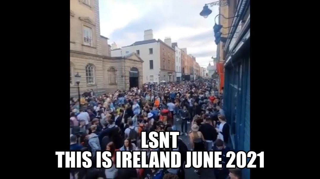 It's PARTY TIME IN IRELAND! PUBS ARE OPEN!!! Back To Sleep They GO