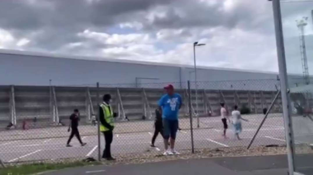 IMPRISONED AT HEATHROW AIRPORT WHILE G7 SKIP QUARANTINE AND ARE WAITED ON BY MASKED SERVANTS