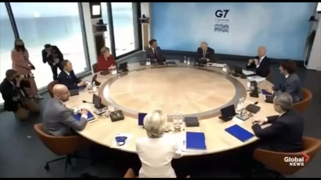They Want To Build Back Better G7 They Still Programming YOU! WAKE UP