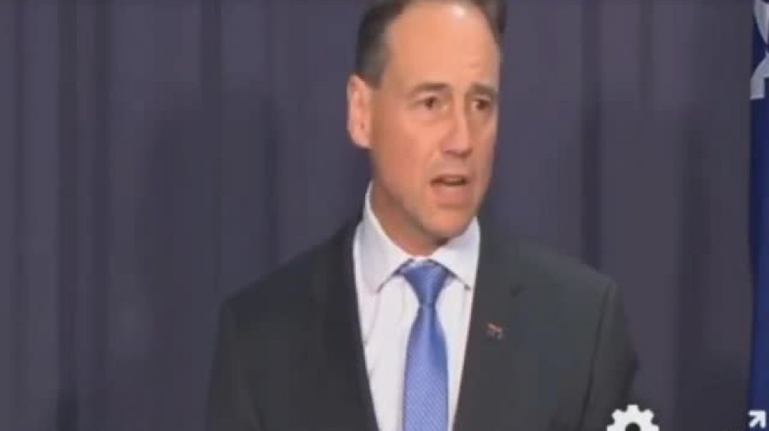 Australian Federal Health Minister Admits NO Aussies Have Died From Convid.