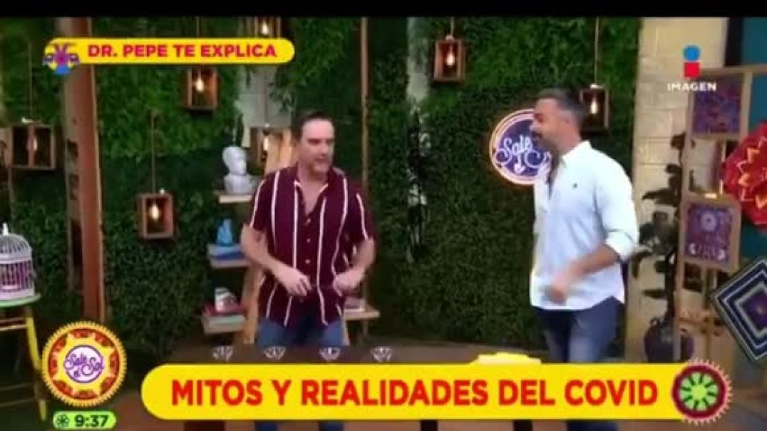 Mexican tv show try to debunk the magnet challenge but watch what happens