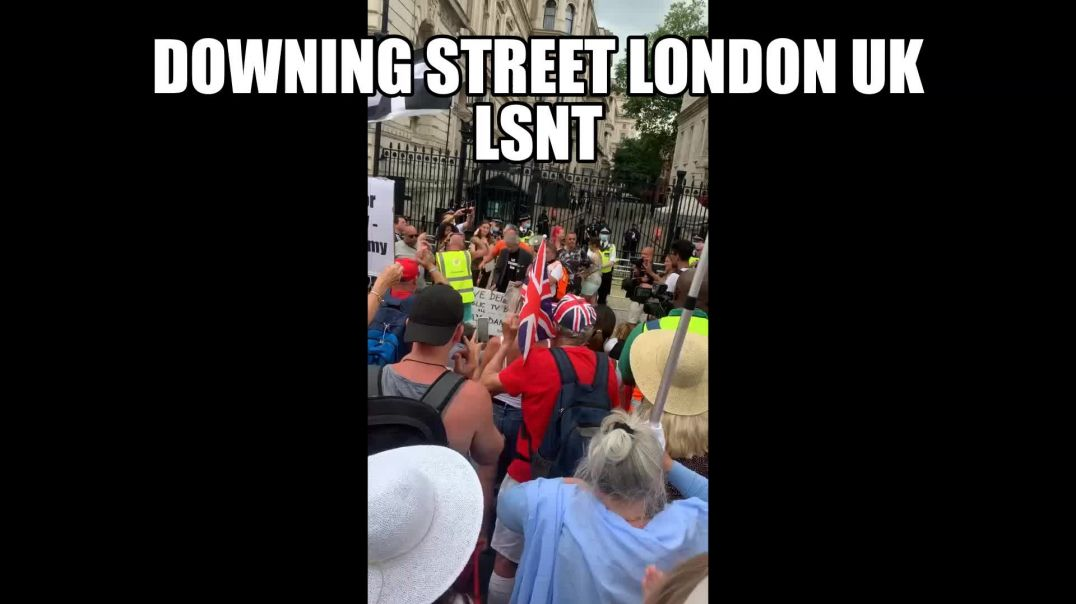 PROTESTS! Downing Street Brought To A Stand Still Today 14,06,2021