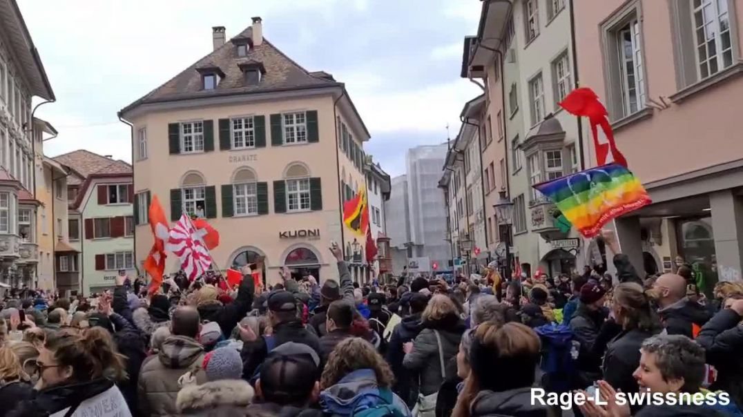April 17th Switzerland Schaffhausen April 17th Peace Freedom Anti-Tyranny Rally March Demonstration