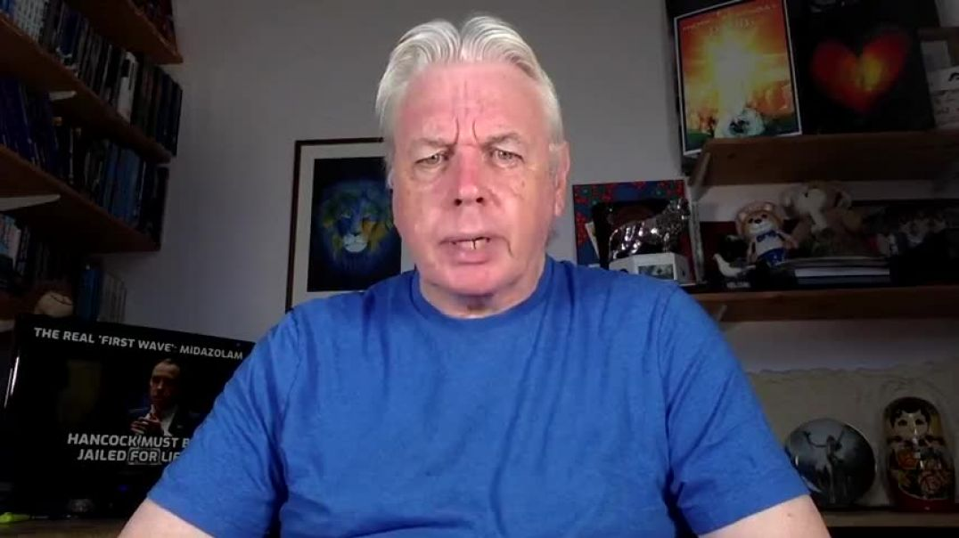 The Real First Wave - Midazolam - Genocide Of The Elderly - David Icke.